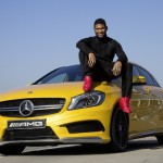 Usher visits Mercedes-Benz plant
