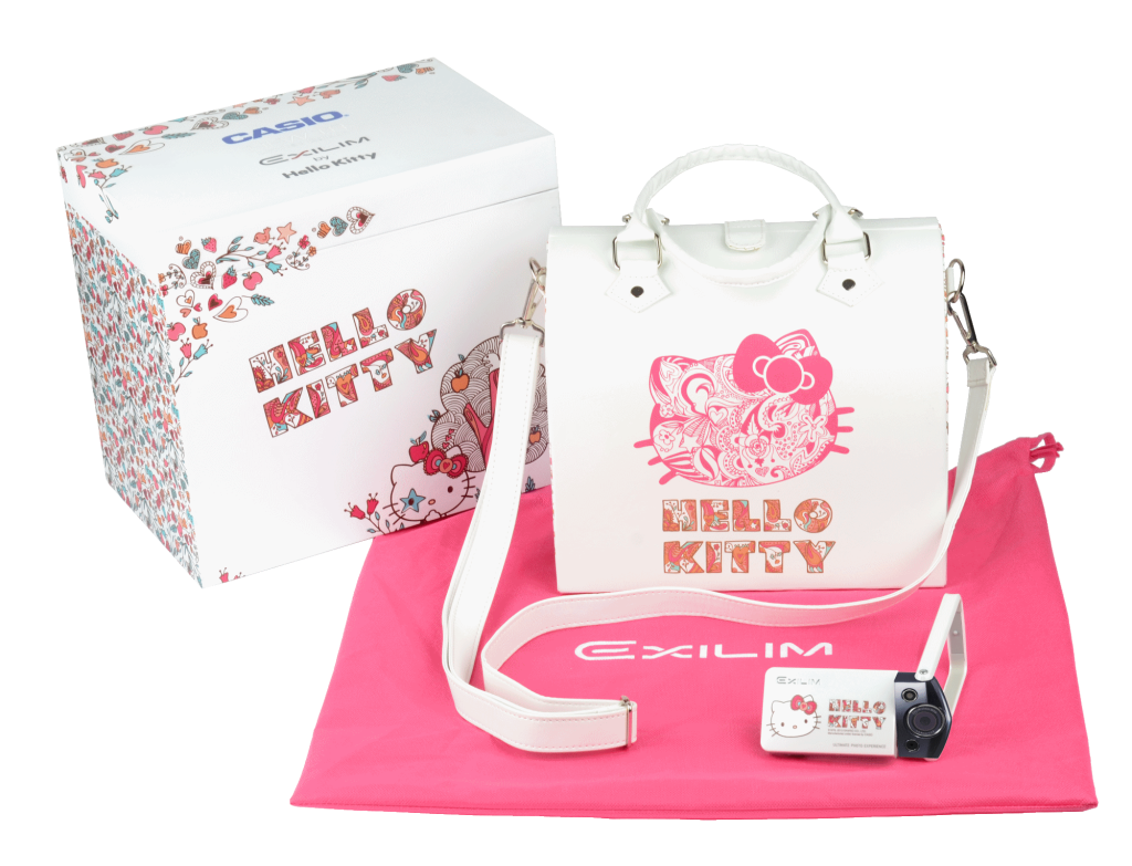 Casio TR10 x Hello Kitty with Carrying Bag