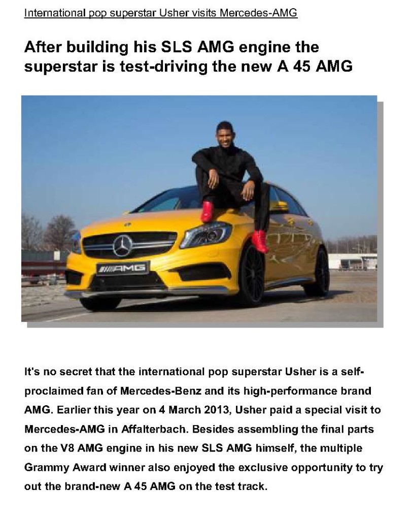 International pop superstar Usher visits Mercedes-AMG_PI_5Sept2013_1