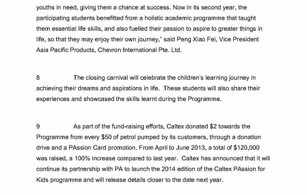 [MEDIA ADVISORY] Caltex and People's Association inspire 200 Students from Less Privileged Background in 'Caltex PAssion for Kids' Community Outreac (1)_3 (438x600)