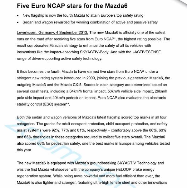 Mazda6 NCAP press release2013_1 (599x600)
