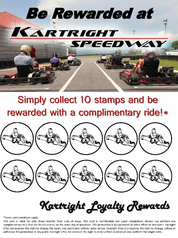 Poster - Be Rewarded at Kartright_1 (600x800)