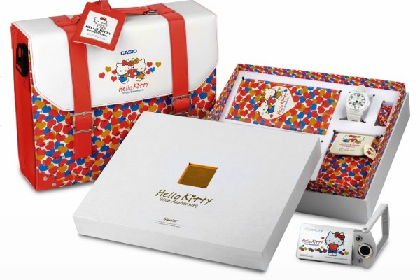 a16da0b0b888 Hello Kitty 40th Anniversary X EXILIM EX-TR15