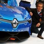Meeting the legendary Alain Prost