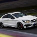 The new Mercedes-Benz CLA 45 AMG 2013