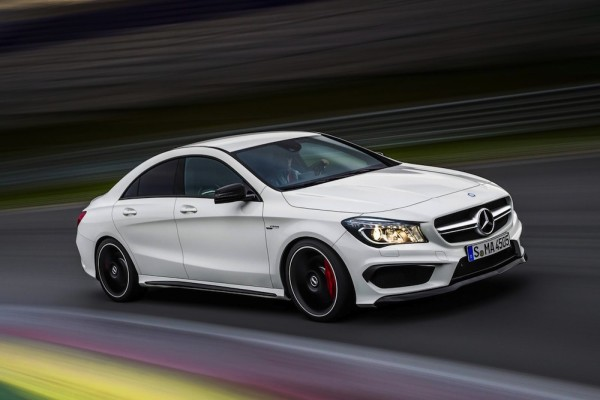 Marvelous The New Mercedes Benz CLA 45 AMG 2013