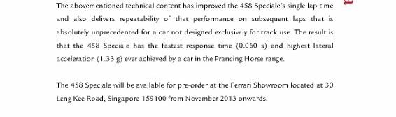 Media Release - Ferrari 458 Speciale debuts in Singapore_3 (566x800)