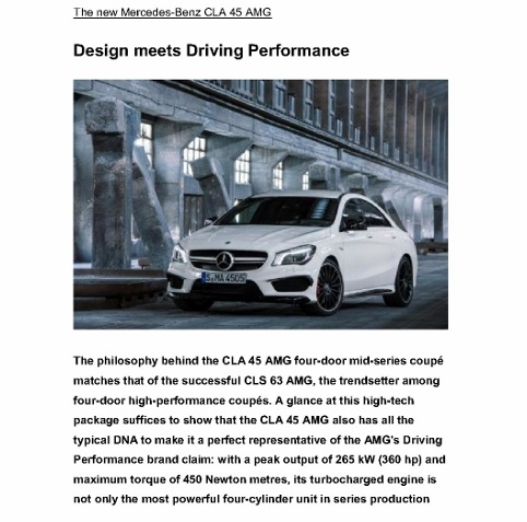 Mercedes-Benz CLA 45 AMG_Design meets Driving Performance_PI_Sg_15Nov13_1 (566x800)