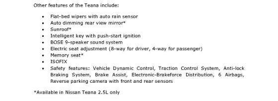 Press Release - Nissan Launches All-New Teana in Singapore (Oct 2013) FINAL_3 (560x205)