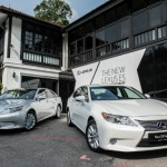 The new Lexus ES range 2013