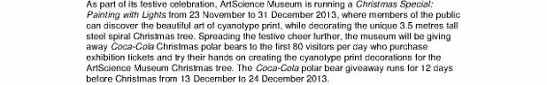 ArtScience Museum appoints Coca Cola Singapore as the official beverage_10 Dec 2013_2 (618x800)