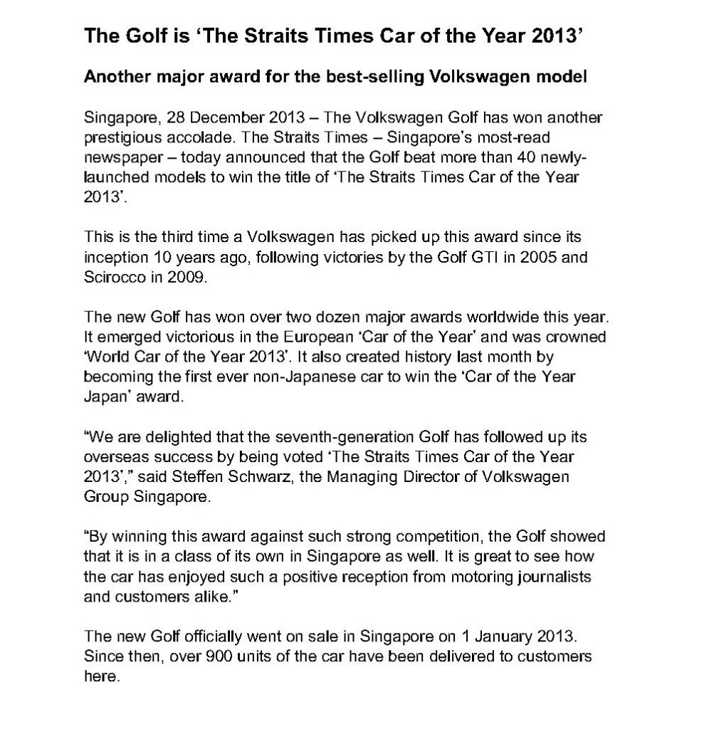 Golf ST COTY press release_1