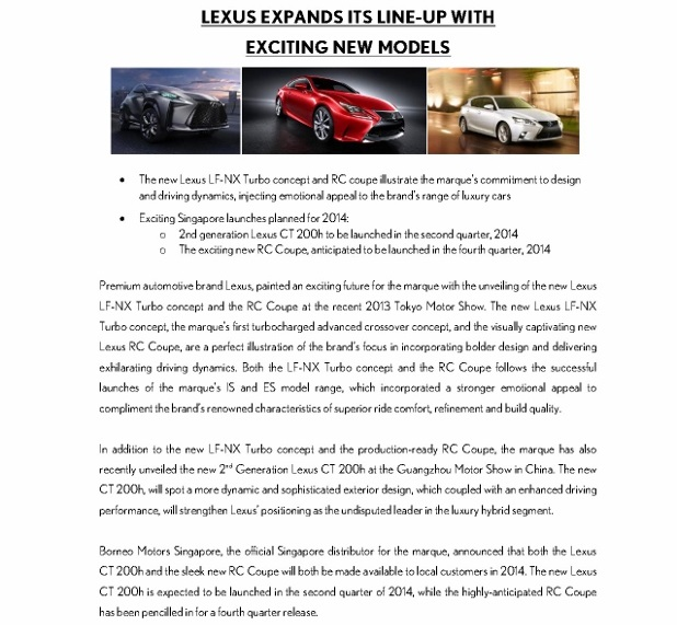 Press Release - LEXUS expands its line-up with exciting new models_1 (618x800)