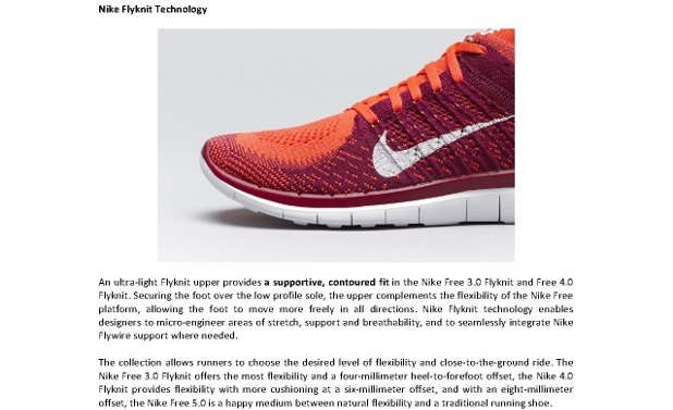Media Release_NIKE FREE 2014 RUNNING COLLECTION REVOLUTIONIZES NATURAL MOTION FLEXIBILITY _3 (618x800)
