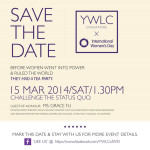 YWLC celebrates International Women's Day 2014
