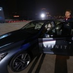 Sebastian Vettel races against celebrities in Shanghai