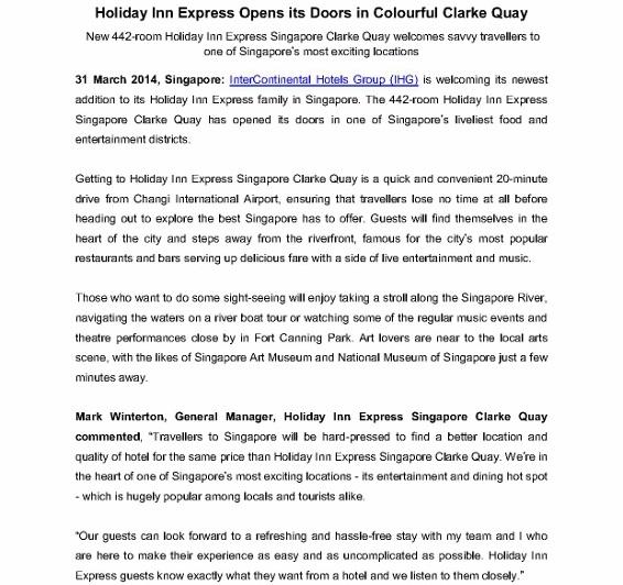 Holiday Inn Express Singapore Clarke Quay (1) - Copy
