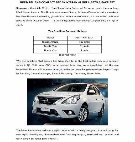 Press Release - Best-selling compact sedan Nissan Almera gets a facelift (April 28)_1 (566x800)