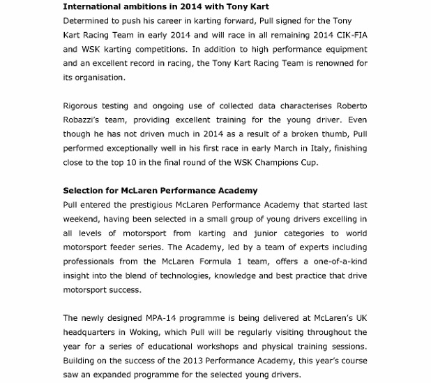 Press Release - James Pull selected for McLaren Performance Academy_2 (618x800)