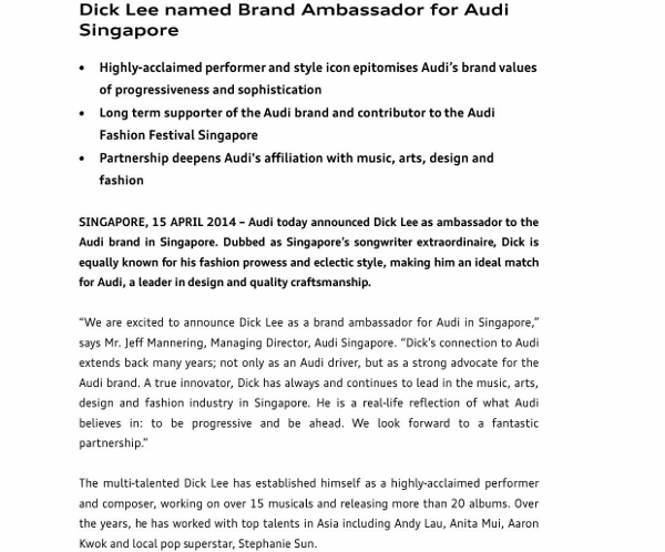 Press Release_Dick Lee named Brand Ambassador for Audi Singapore_1 (600x498)