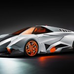 Lamborghini Egoista permanently displayed at Lamborghini headquarters
