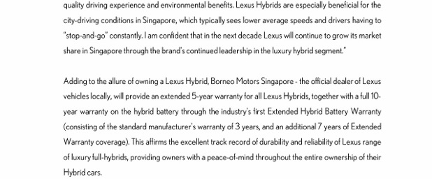 (27 May 14) PRESS RELEASE_Lexus Celebrates A Decade of Leadership in Full Hybrid Innovation_3 (618x800)