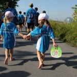 Go without shoes at the Bare Your Sole 2014 walkathon