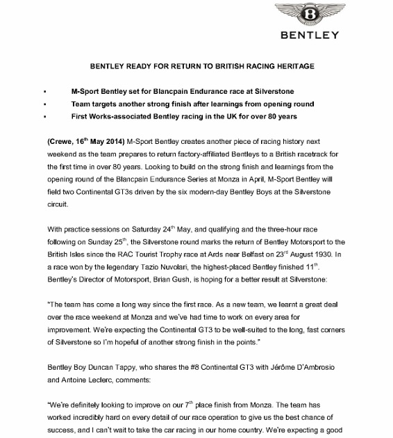 Bentley ready for return to British racing heritage (English)_1 (566x800)