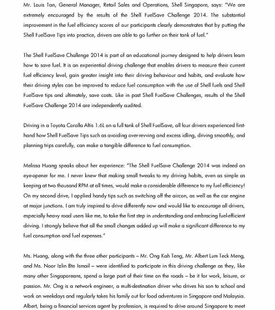 News Release_Four everyday drivers achieve more than 50 percent improvement in fuel efficiency in Shell Driving Challenge_2 (566x800)