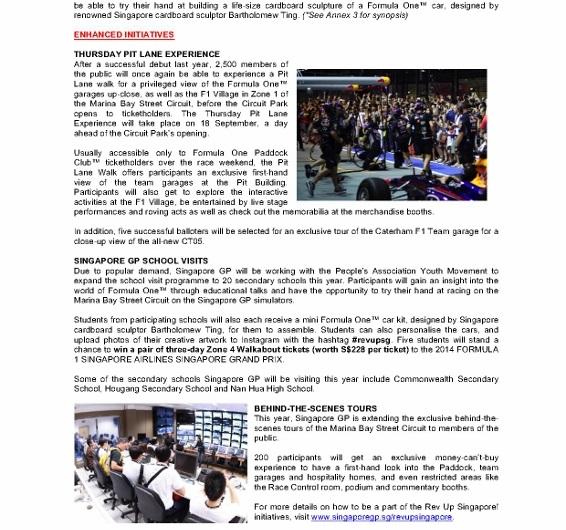 PRESS RELEASE_Race Promoter Singapore GP Launches Rev Up Singapore Campaign_080514_2 (566x800)