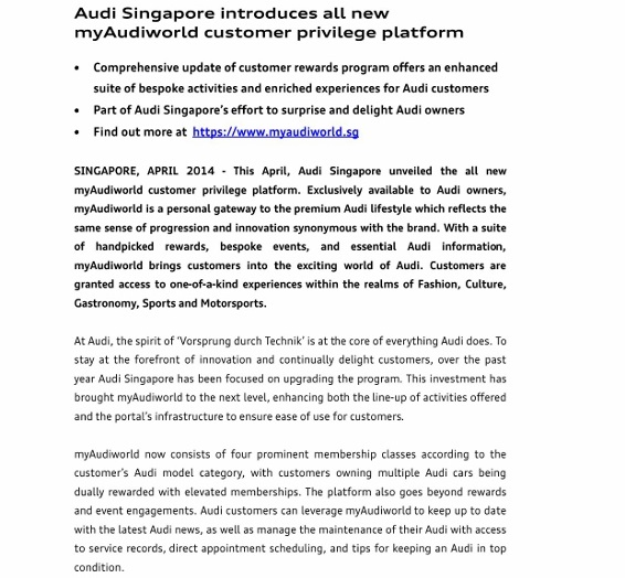 Press Release_Audi Singapore introduces all new myAudiworld customer privilege platform_1 (566x800)