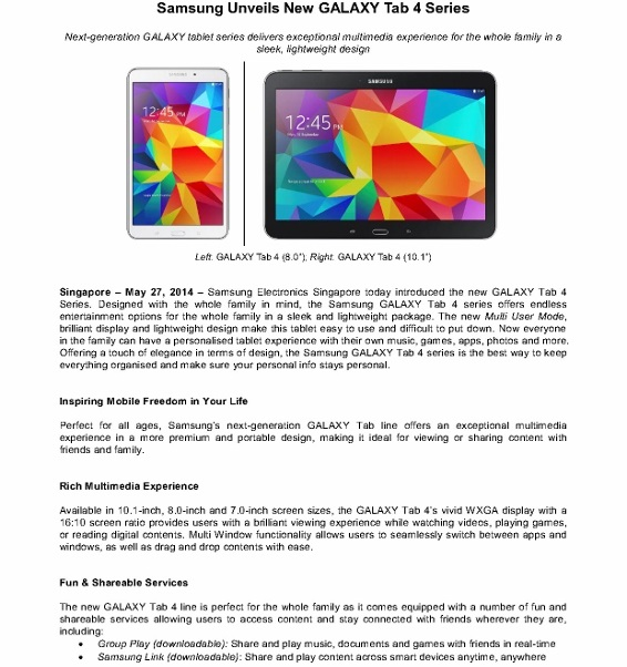Samsung Unveils New GALAXY Tab 4 Series_1 (566x800)