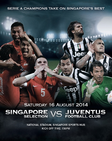 Singapore v Juventus Match 16 Aug 2014 (477x600)