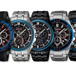 New limited edition EDIFICE X Red Bull Racing watches
