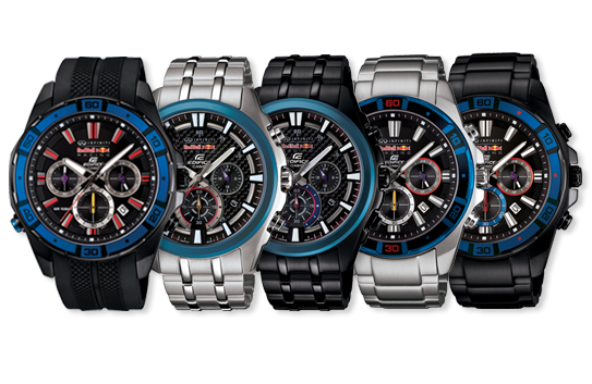 80fb0c69ea49 New limited edition EDIFICE X Red Bull Racing watches
