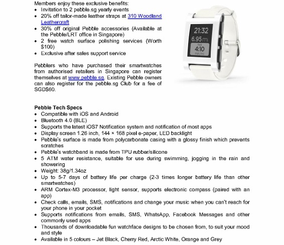 pebble smartwatch launch sg (2)
