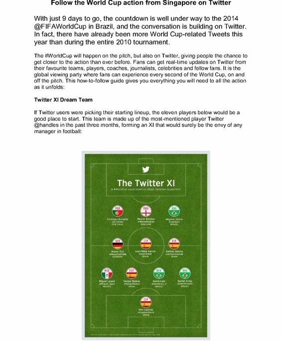 MEDIA ALERT - Follow the World Cup action from Singapore on Twitter_1 (566x800)