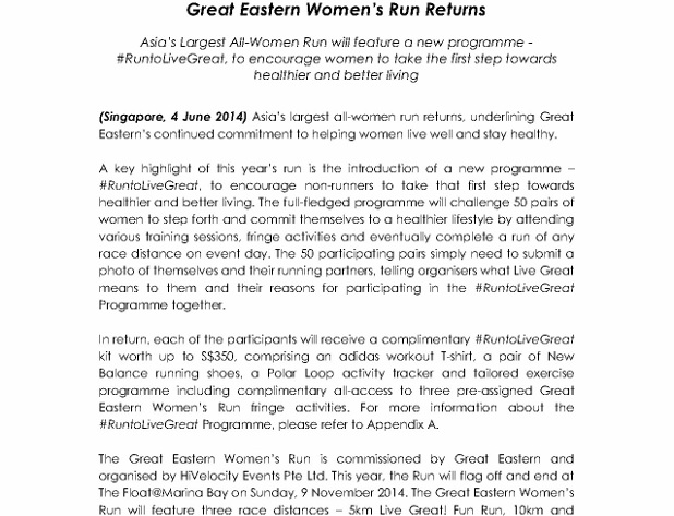 Media Release - Great Eastern Women's Run Returns_1 (618x800)