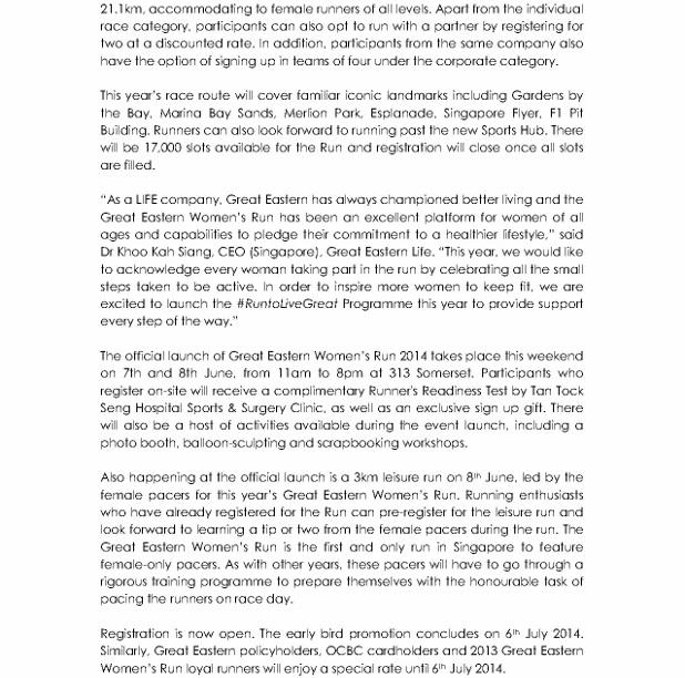 Media Release - Great Eastern Women's Run Returns_2 (618x800)