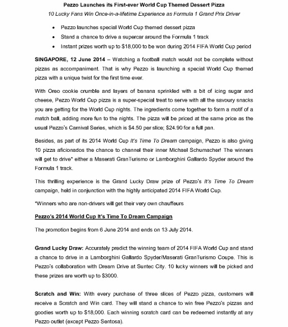 Pezzo 2014 World Cup Campaign Press Release _1 (566x800)