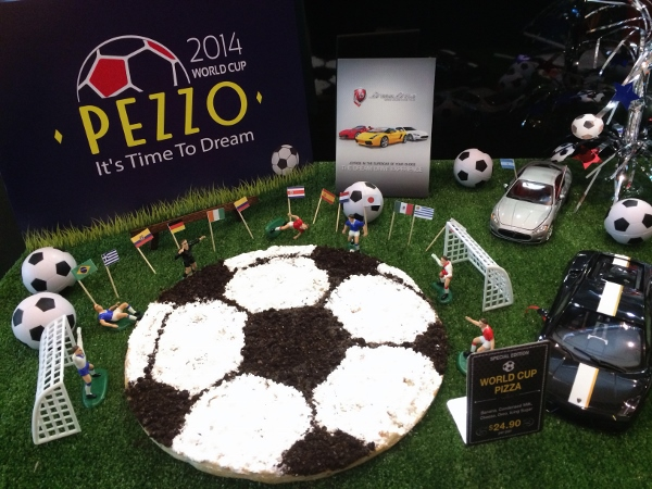 Pezzo launches its first-ever World Cup themed dessert pizza (600x450)