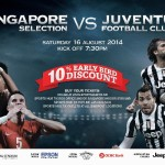 [CLOSED][GIVEAWAY] Training tickets for Juventus vs. Singapore Selection