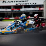 Arvin clinches first Singapore Karting Championship win