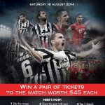 [GIVEAWAY] Tickets for Juventus vs. Singapore Selection