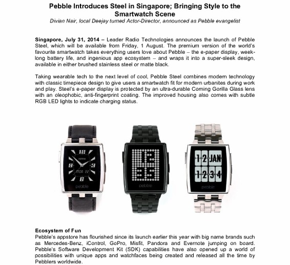 Pebble Steel Press Release_1 (566x800)