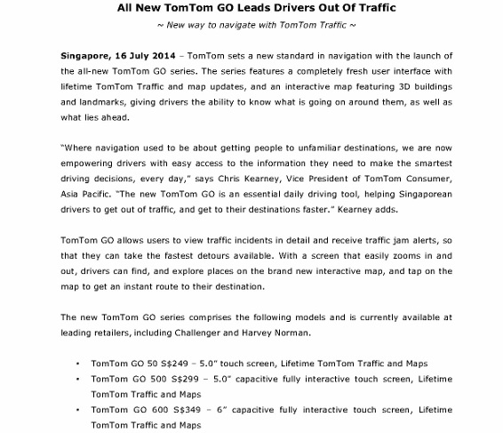 TomTom GO Leads Drivers Out of Traffic_Immediate Release_1 (566x800)
