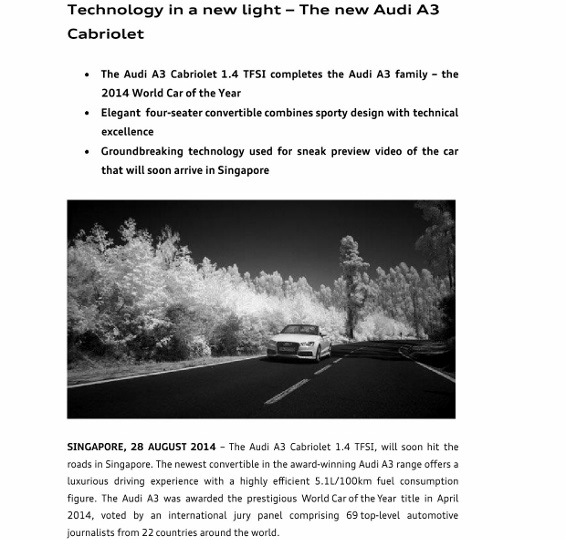 Press Release_Technology in a new light - The new Audi A3 Cabriolet_1 (566x800)