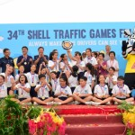 Annual Shell Traffic Games demonstrated dangers of distracted road usage