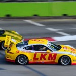 Porsche Carrera Cup Asia 2014 Round 10 Singapore: Bamber proves dominance on streets of Marina Bay