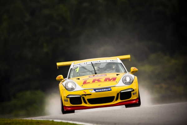 Porsche Carrera Cup Asia.  Sepang, Malaysia 15th - 17th August 2014 Photo: Drew Gibson